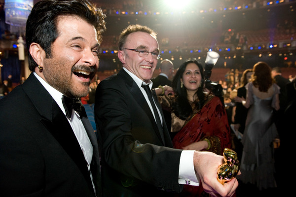 """""""The 81st Annual Academy Awards"""" (Telecast)Anil Kapoor, Danny Boyle02-22-2009Photo by Richard Harbaugh © 2009 A.M.P.A.S. - Image 23704_0540"""