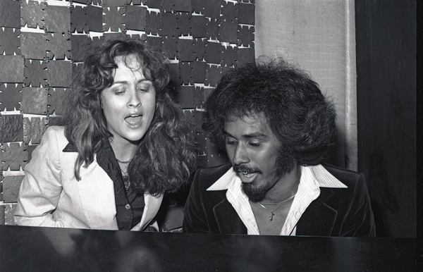 Teena Marie and Phillip Ingram, of the band Switch, Los Angeles / 1979 © 1979 Bobby Holland - Image 23730_0002