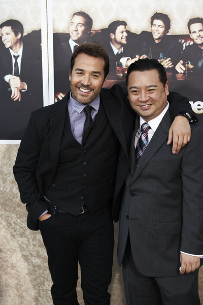 """""""Entourage"""" Premiere Jeremy Piven and Rex Lee7-9-2009 / The Paramount Theater / Hollywood, CA / Paramount Pictures / Photo by Benny Haddad - Image 23752_0116"""