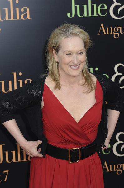 """Julie & Julia"" PremiereMeryl Streep7-27-2009 / Mann Village Theater / Westwood, CA / Sony Pictures / Photo by Heather Holt - Image 23754_0220"