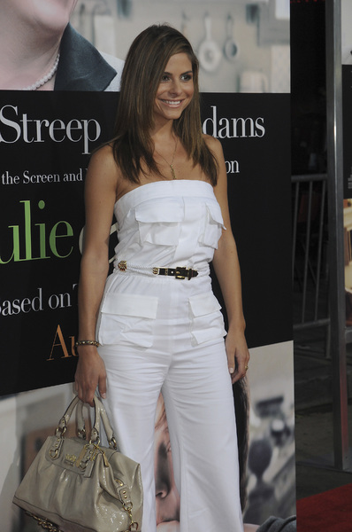 """""""Julie & Julia"""" Premiere Maria Menounos7-27-2009 / Mann Village Theater / Westwood, CA / Sony Pictures / Photo by Heather Holt - Image 23754_0284"""