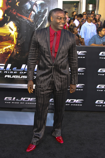 """G.I. Joe: The Rise of Cobra"" PremiereAdewale Akinnuoye-Agbaje8-6-2009 / Grauman"