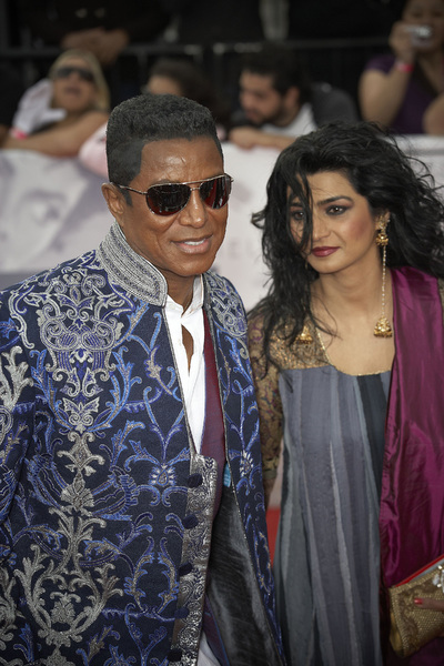 """This Is It"" PremiereJermaine Jackson, Halima Rashid10-27-2009 / Nokia Theatre L.A. Live / Los Angeles, CA / Columbia Pictures / Photo by Benny Haddad - Image 23803_0130"