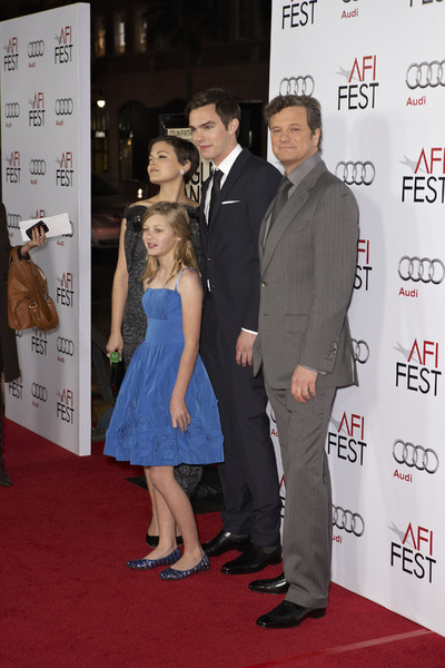 """A Single Man"" PremiereGinnifer Goodwin, Ryan Simpkins, Nicholas Hoult, Colin Firth11-5-2009 / Grauman"