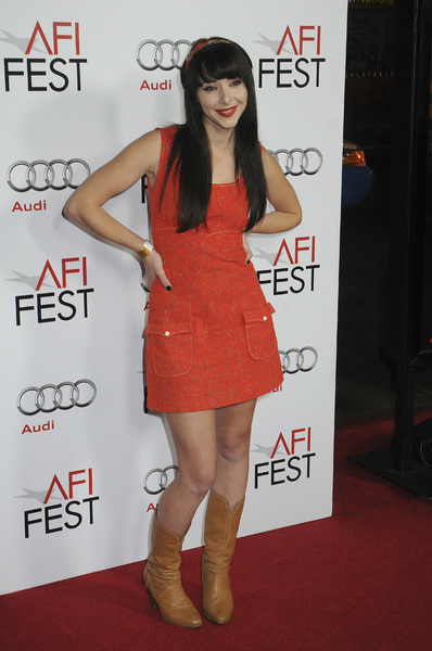 """Fantastic Mr. Fox"" PremiereLauren McKnight10-30-2009 / Grauman"