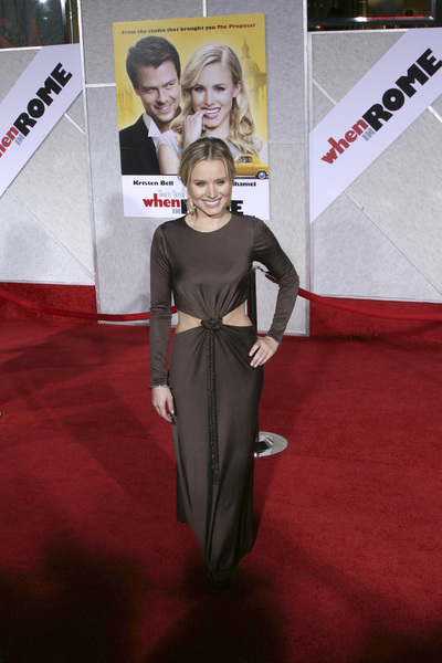 """When in Rome"" PremiereKristen Bell 1-27-2010 / El Capitan Theater / Hollywood CA / Touchstone Pictures / Photo by Heather Hixon - Image 23871_0019"