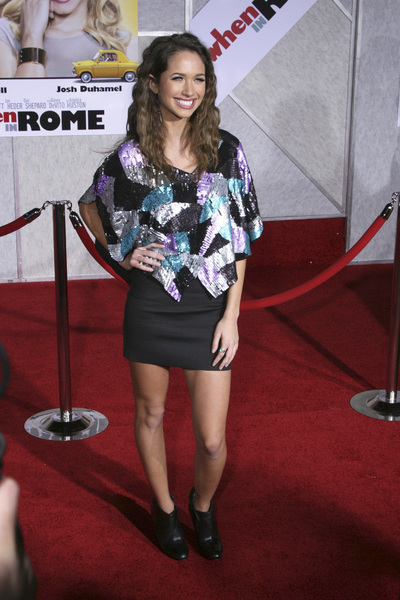"""When in Rome"" PremiereMaiara Walsh1-27-2010 / El Capitan Theater / Hollywood CA / Touchstone Pictures / Photo by Heather Hixon - Image 23871_0162"