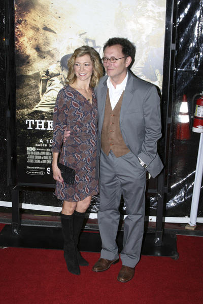 """The Pacific"" PremiereCarrie Preston, Michael Emerson2-24-2010 / Grauman"