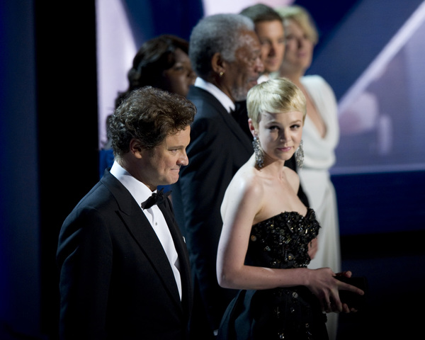 """The Academy Awards - 82nd Annual"" (Telecast)Colin Firth, Carey Mulligan3-7-2010Photo by Matt Petit © 2010 A.M.P.A.S. - Image 23908_0009"