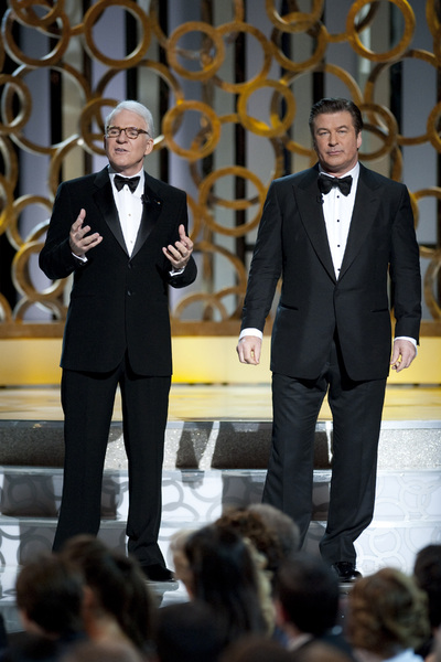 """The Academy Awards - 82nd Annual"" (Telecast)Steve Martin, Alec Baldwin3-7-2010Photo by Michael Yada © 2010 A.M.P.A.S. - Image 23908_0037"