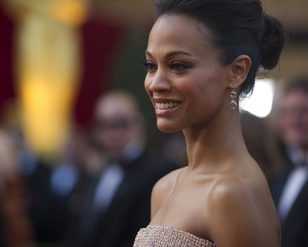 """The Academy Awards - 82nd Annual"" (Arrivals)Zoe Saldana3-7-2010Photo by Matt Petit © 2010 A.M.P.A.S. - Image 23908_0163"