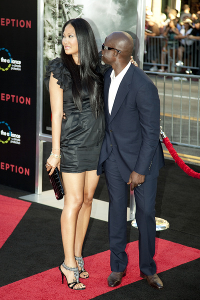 """Inception"" Premiere Kimora Lee Simmons, Djimon Hounsou7-13-2010 / Grauman"