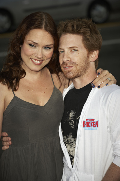 """Scott Pilgrim vs. the World"" Premiere Clare Grant, Seth Green7-27-2010 / Grauman"
