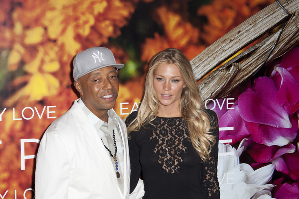"""Eat Pray Love"" Premiere Russell Simmons, Cynthia Kirchner8-10-2010 / Ziegfeld Theater / New York NY / Columbia Pictures / Photo by Lauren Krohn - Image 23957_0253"