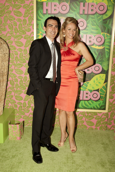"""HBO Post Emmy Party"" Patrick Fischler, Lauren Bowles8-29-2010 / The Plaza at the Pacific Desighn Center / Hollywood CA / HBO / Photo by Annabel Park - Image 23964_0209"