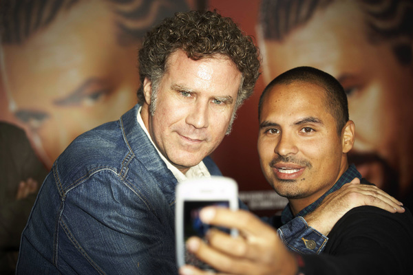 """East Bound & Down"" PremiereWill Ferrell and Michael Pena9-16-2010 / The Paramount Theater / Hollywood CA / HBO / Photo by Benny Haddad - Image 23974_0077"