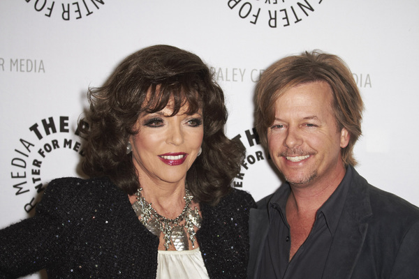 """Rules of Engagement Panel at The Paley Center"" Joan Collins and David Spade11-4-2010 / The Paley Center for Media / Beverly Hills CA / Photo by Benny Haddad - Image 23988_0133"