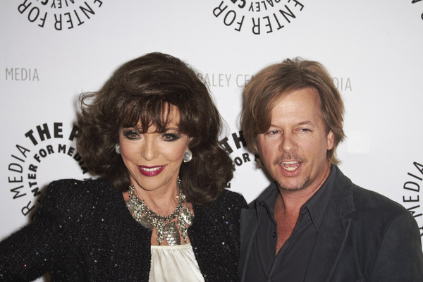 """Rules of Engagement Panel at The Paley Center"" Joan Collins and David Spade11-4-2010 / The Paley Center for Media / Beverly Hills CA / Photo by Benny Haddad - Image 23988_0135"