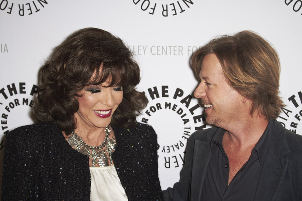 """Rules of Engagement Panel at The Paley Center"" Joan Collins and David Spade11-4-2010 / The Paley Center for Media / Beverly Hills CA / Photo by Benny Haddad - Image 23988_0139"