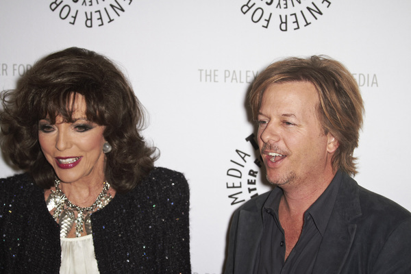"""Rules of Engagement Panel at The Paley Center"" Joan Collins and David Spade11-4-2010 / The Paley Center for Media / Beverly Hills CA / Photo by Benny Haddad - Image 23988_0140"