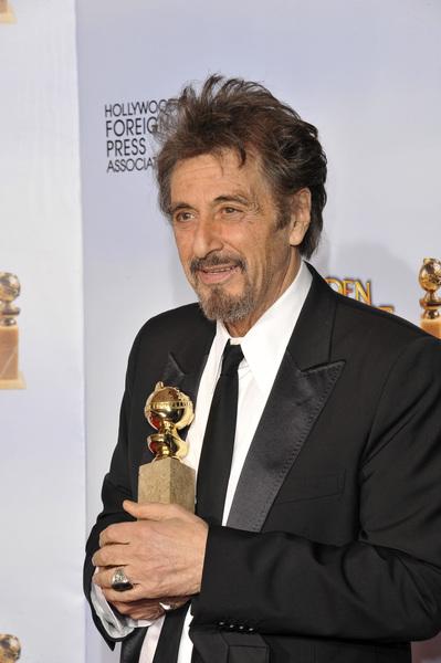 """The Golden Globe Awards - 68th Annual"" (Press Room)Al Pacino1-16-2011 © 2011 Jean Cummings - Image 24010_0333"