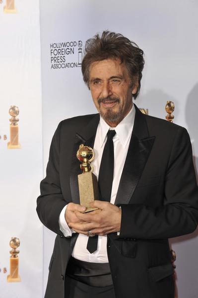 """The Golden Globe Awards - 68th Annual"" (Press Room)Al Pacino1-16-2011 © 2011 Jean Cummings - Image 24010_0334"
