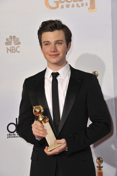 """The Golden Globe Awards - 68th Annual"" (Press Room)Chris Colfer1-16-2011 © 2011 Jean Cummings - Image 24010_0341"