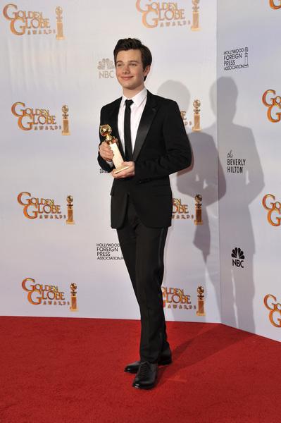 """The Golden Globe Awards - 68th Annual"" (Press Room)Chris Colfer1-16-2011 © 2011 Jean Cummings - Image 24010_0342"