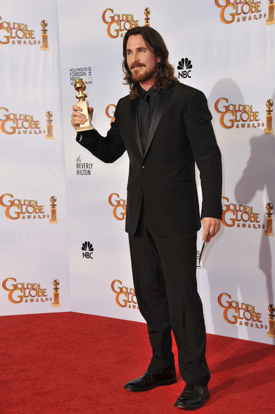 """""""The Golden Globe Awards - 68th Annual"""" (Press Room)Christian Bale1-16-2011 © 2011 Jean Cummings - Image 24010_0346"""