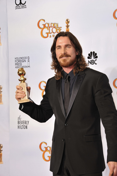 """""""The Golden Globe Awards - 68th Annual"""" (Press Room)Christian Bale1-16-2011 © 2011 Jean Cummings - Image 24010_0347"""