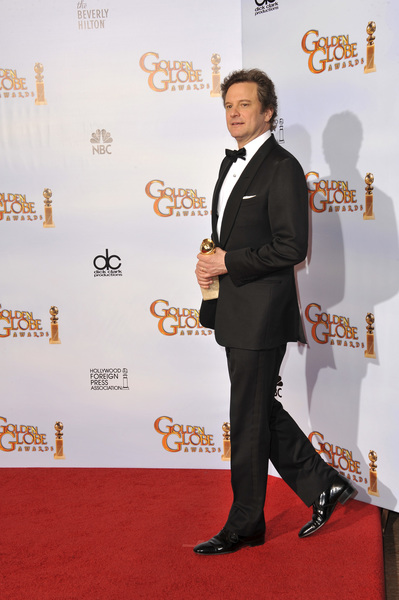 """""""The Golden Globe Awards - 68th Annual"""" (Press Room)Colin Firth1-16-2011 © 2011 Jean Cummings - Image 24010_0350"""