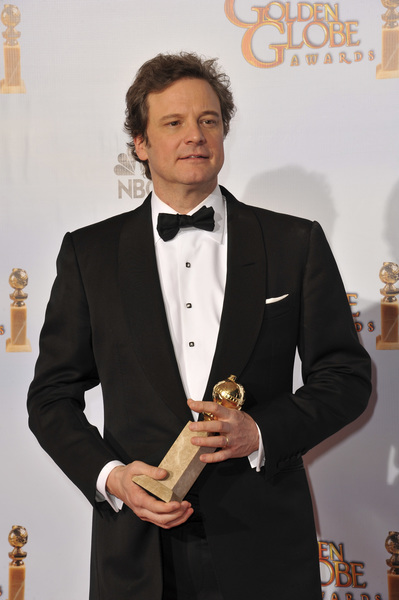 """""""The Golden Globe Awards - 68th Annual"""" (Press Room)Colin Firth1-16-2011 © 2011 Jean Cummings - Image 24010_0351"""