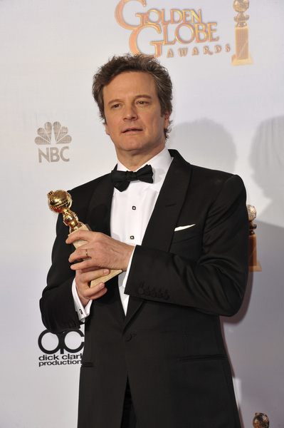 """""""The Golden Globe Awards - 68th Annual"""" (Press Room)Colin Firth1-16-2011 © 2011 Jean Cummings - Image 24010_0352"""