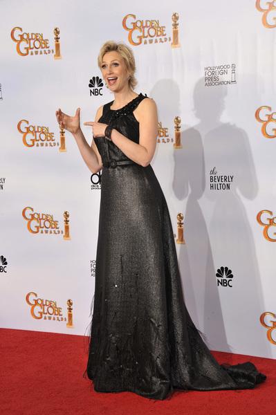 """The Golden Globe Awards - 68th Annual"" (Press Room)Jane Lynch1-16-2011 © 2011 Jean Cummings - Image 24010_0363"