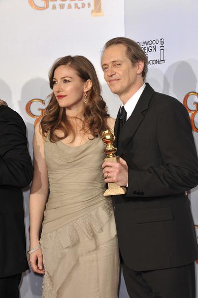 """The Golden Globe Awards - 68th Annual"" (Press Room)Kelly Macdonald, Steve Buscemi1-16-2011 © 2011 Jean Cummings - Image 24010_0370"
