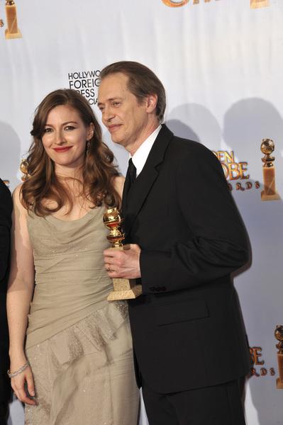 """The Golden Globe Awards - 68th Annual"" (Press Room)Kelly Macdonald, Steve Buscemi1-16-2011 © 2011 Jean Cummings - Image 24010_0371"