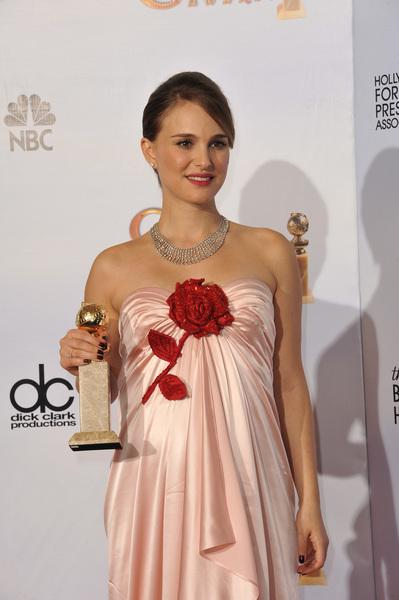 """The Golden Globe Awards - 68th Annual"" (Press Room)Natalie Portman1-16-2011 © 2011 Jean Cummings - Image 24010_0377"