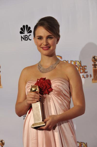 """The Golden Globe Awards - 68th Annual"" (Press Room)Natalie Portman1-16-2011 © 2011 Jean Cummings - Image 24010_0380"