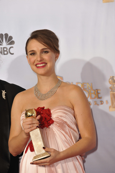 """The Golden Globe Awards - 68th Annual"" (Press Room)Natalie Portman1-16-2011 © 2011 Jean Cummings - Image 24010_0381"