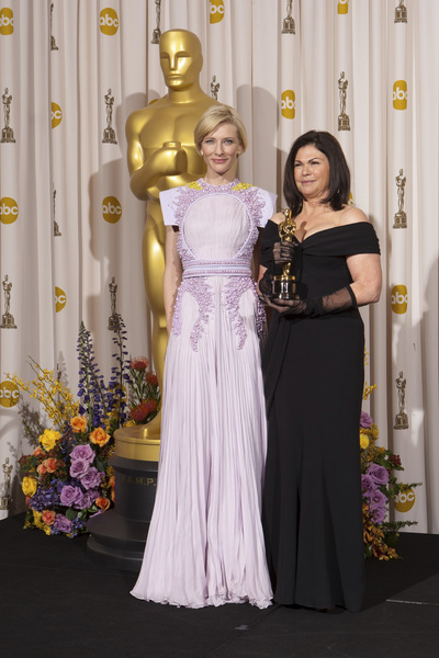 """The Academy Awards - 83rd Annual"" (Press Room) Cate Blanchett, Colleen Atwood2-27-2011Photo by Rick Salyer © 2011 A.M.P.A.S. - Image 24036_0275"