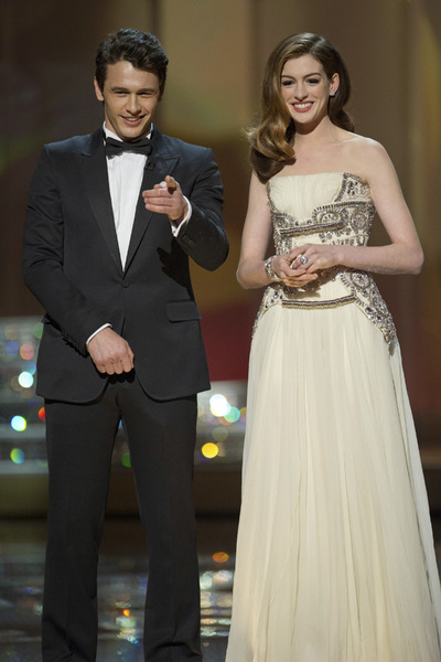 """The Academy Awards - 83rd Annual"" (Telecast) James Franco, Anne Hathaway02-27-2011 Photo by Michael Yada © 2011 A.M.P.A.S. - Image 24036_0300"