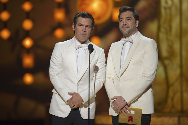 """The Academy Awards - 83rd Annual"" (Telecast) Josh Brolin, Javier Bardem02-27-2011 Photo by Michael Yada © 2011 A.M.P.A.S. - Image 24036_0311"