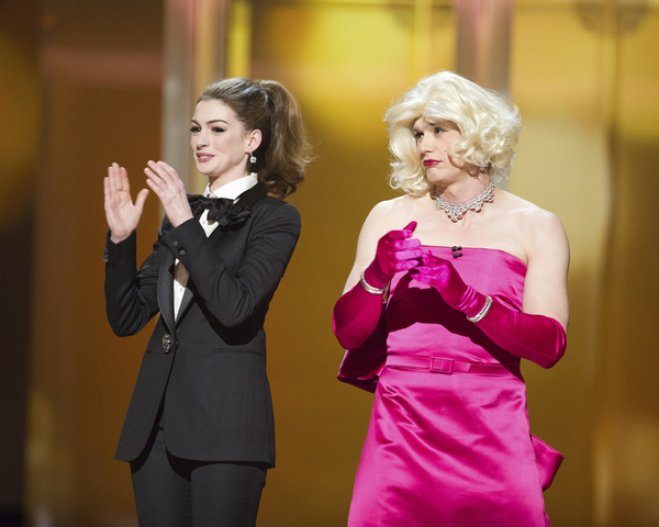 """The Academy Awards - 83rd Annual"" (Telecast) Anne Hathaway, James Franco02-27-2011 Photo by Michael Yada © 2011 A.M.P.A.S. - Image 24036_0322"
