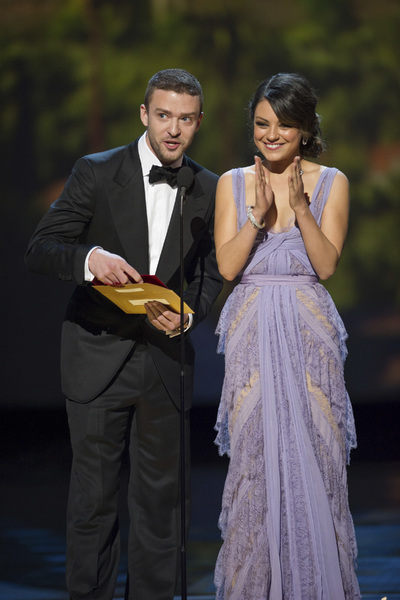 """The Academy Awards - 83rd Annual"" (Telecast) Justin Timberlake, Mila Kunis02-27-2011 Photo by Michael Yada © 2011 A.M.P.A.S. - Image 24036_0342"