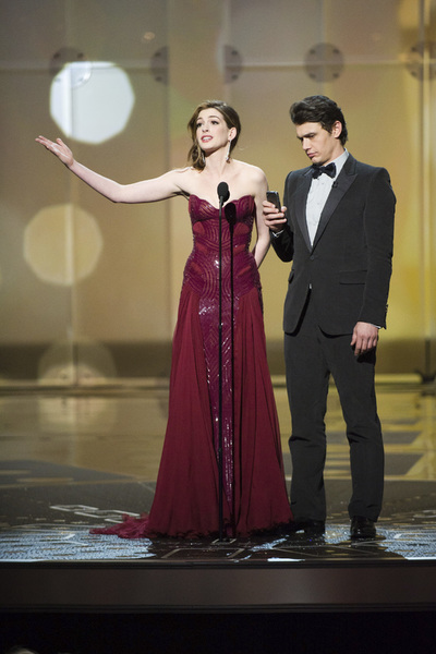 """The Academy Awards - 83rd Annual"" (Telecast) Anne Hathaway, James Franco02-27-2011 Photo by Michael Yada © 2011 A.M.P.A.S. - Image 24036_0406"