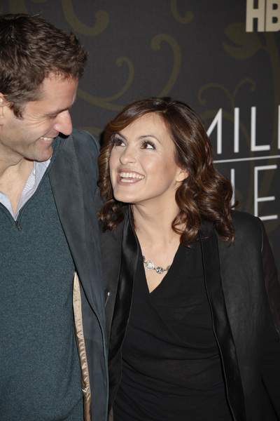 """Mildred Pierce"" Premiere Peter Hermann, Mariska Hargitay3-21-2011 / HBO / Ziegfeld Theater / New York NY / Photo by Lauren Krohn - Image 24041_0136"