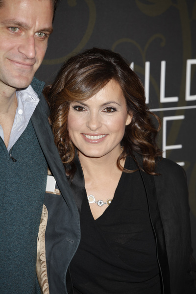 """Mildred Pierce"" Premiere Peter Hermann, Mariska Hargitay3-21-2011 / HBO / Ziegfeld Theater / New York NY / Photo by Lauren Krohn - Image 24041_0138"