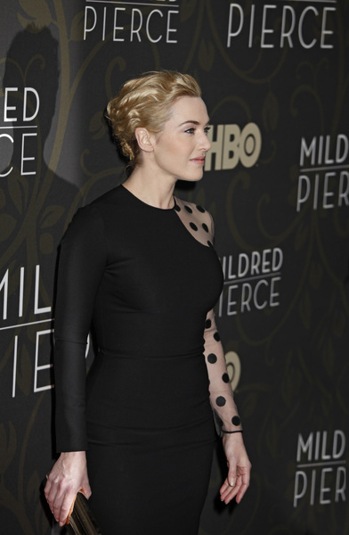 """Mildred Pierce"" Premiere Kate Winslet3-21-2011 / HBO / Ziegfeld Theater / New York NY / Photo by Lauren Krohn - Image 24041_0164"