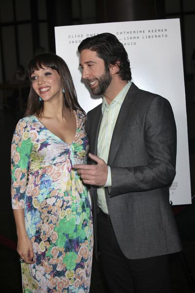 """Trust"" PremiereZoe Buckman, David Schwimmer 3-21-2011 / Millennium Entertainment / DGA Theater / Hollywood CA / Photo by Imeh Akpanudosen - Image 24042_0129"