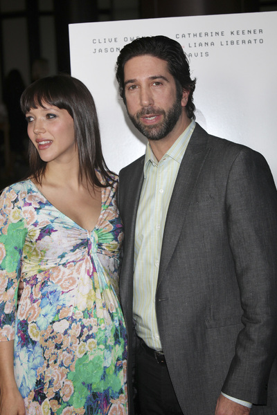 """Trust"" PremiereZoe Buckman, David Schwimmer 3-21-2011 / Millennium Entertainment / DGA Theater / Hollywood CA / Photo by Imeh Akpanudosen - Image 24042_0130"